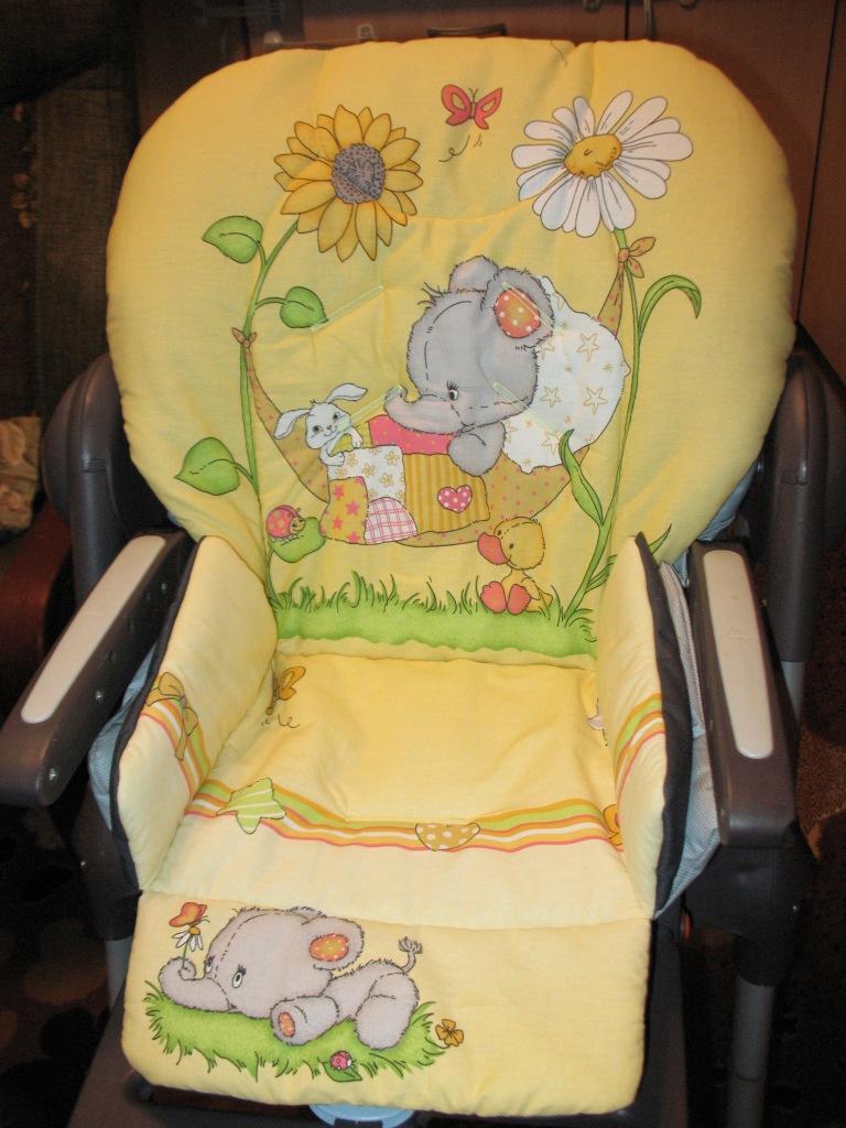 Чехол на детский стульчик для кормления своими руками 29